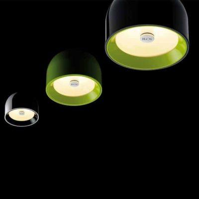 Flos loftlampe i flere forskellige farver